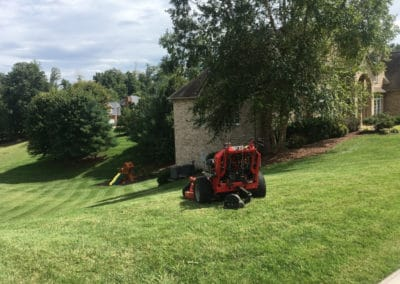 how much is lawn mowing service