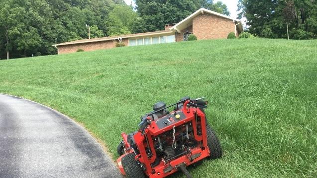 lawn mowing service johnson city tn